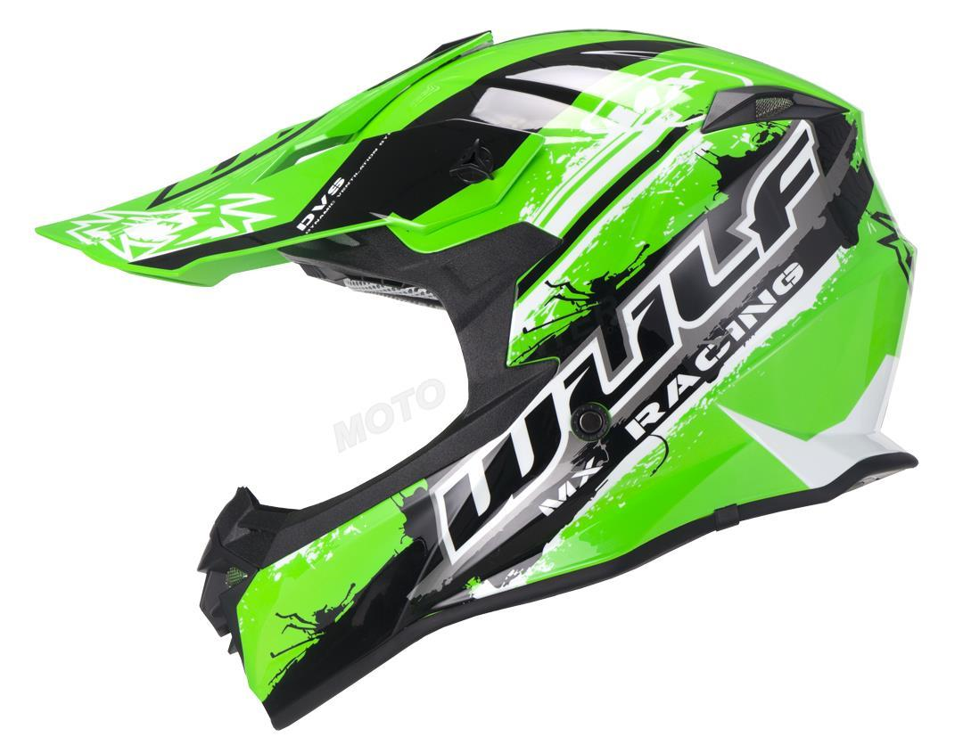 Кросс-шлем Wulf PRO Green L Марка Европы