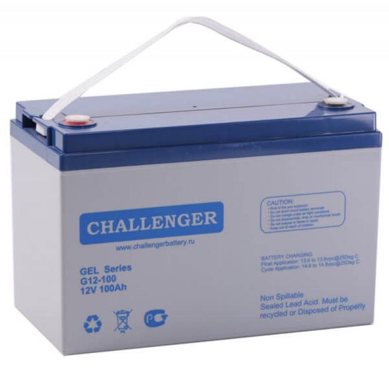 Аккумулятор Challenger G12-100 (12 В, 92 А*ч, GEL)