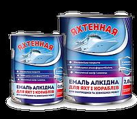 """Емаль ПФ-266 """"Яхтова"""" для підлоги червоно-коричнева (0,9 кг)"""