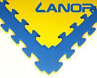 Мат-татами ласточкин хвост Lanor (100кг/м3) 100*100*2см