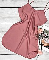 Чорний короткий пеньюар-сарафан ТМ Exclusive 001, пеньюари нічні сорочки.