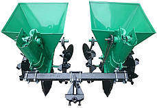 Картофелесажалка двухрядная для минитрактора, мототрактора КСН-2МТ-68, фото 2