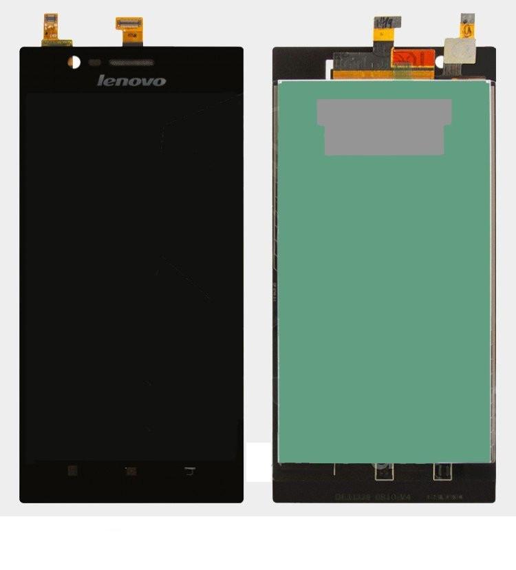 Дисплей для Lenovo K900 с сенсорным стеклом (Черный) Оригинал Китай