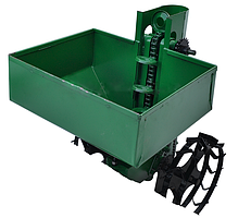 Картофелесажалка двухрядная для мототрактора, минитрактора с бункером для удобрения КСН-2МТ-90, фото 2
