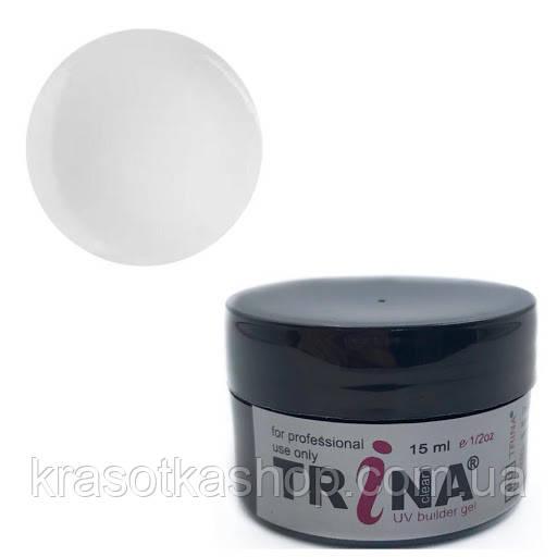 TRINA Гель конструирующий прозрачный,  14г