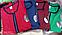 Женский  трикотажный молодежный халат, на молнии, с пояском, в полоску р.Л, XL.2XL  цветов много, фото 3