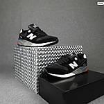 Чоловічі кросівки New Balance 999 (чорні) 10384 демісезонна якісна спортивна взуття, фото 2