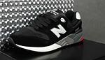 Чоловічі кросівки New Balance 999 (чорні) 10384 демісезонна якісна спортивна взуття, фото 3