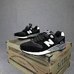 Чоловічі кросівки New Balance 999 (чорні) 10384 демісезонна якісна спортивна взуття, фото 5
