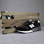Чоловічі кросівки New Balance 999 (чорні) 10384 демісезонна якісна спортивна взуття, фото 7