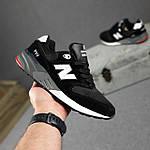 Чоловічі кросівки New Balance 999 (чорні) 10384 демісезонна якісна спортивна взуття, фото 8