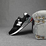 Чоловічі кросівки New Balance 999 (чорні) 10384 демісезонна якісна спортивна взуття, фото 9