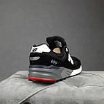 Чоловічі кросівки New Balance 999 (чорні) 10384 демісезонна якісна спортивна взуття, фото 10