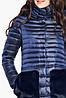 Сапфировая осенне-весенняя женская куртка модель 15115, фото 6