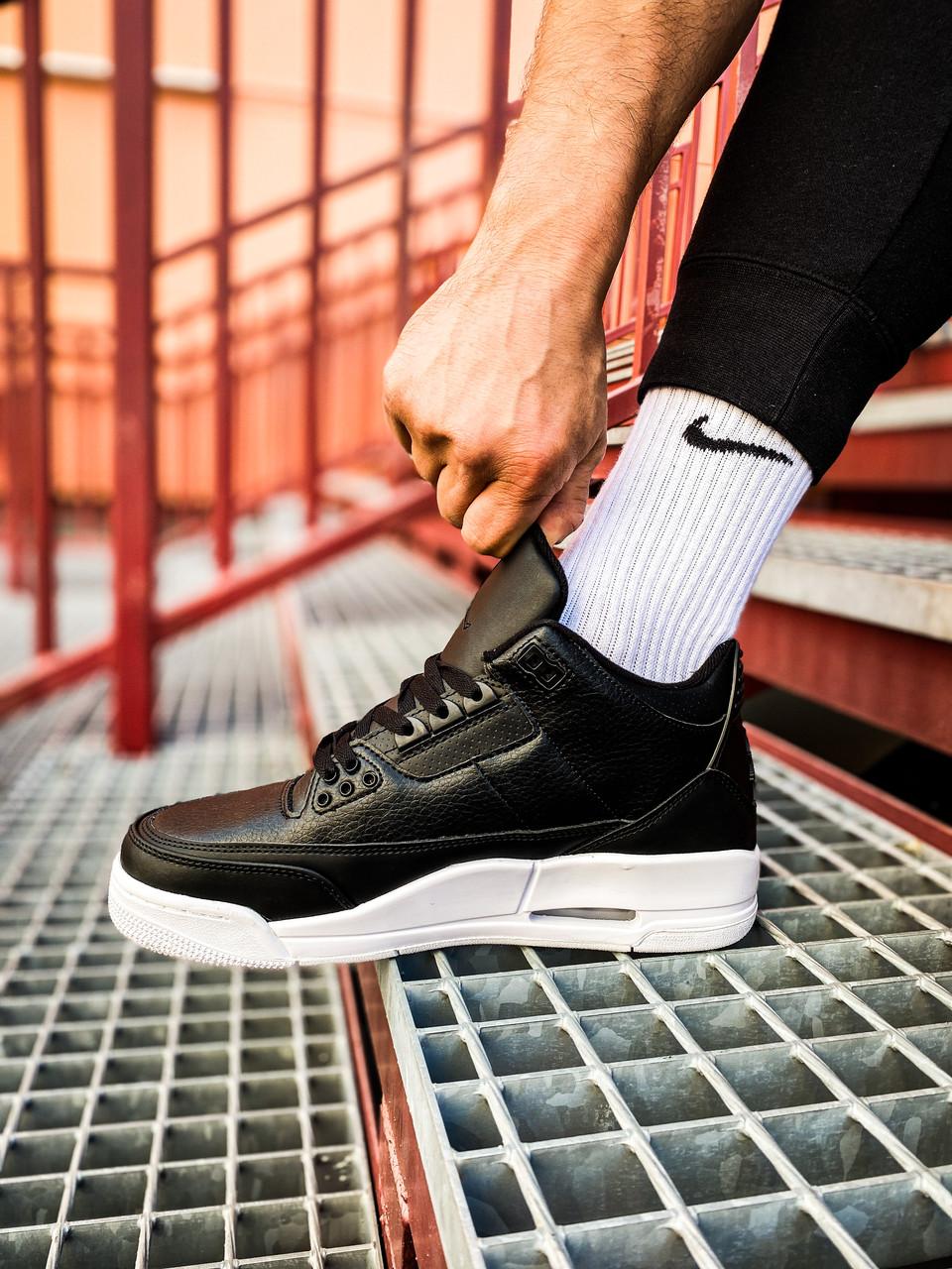 Кроссовки N Air Jordan 3 Retro Black