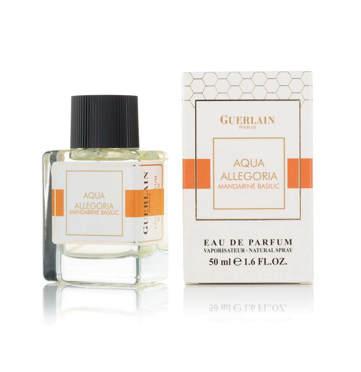 Женский мини парфюм Aqua Allegoria Mandarine Basilic - 50 мл (код: 420)