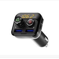 FM-трансмиттер Grand-X 98GRX MegaBass, Bluetooth V5.0, Hands Free, MicroSD, 2UB 1A-2.4A (98GRX)