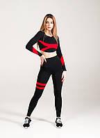 Женские Леггинсы с утяжкой Asalart Adel Style Red Высокий Пояс
