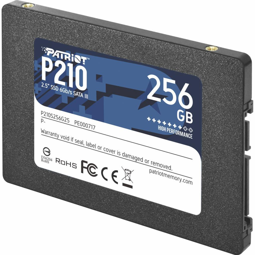 Накопичувач SSD PATRIOT P210 256 GB SATA III TLC (P210S256G25)