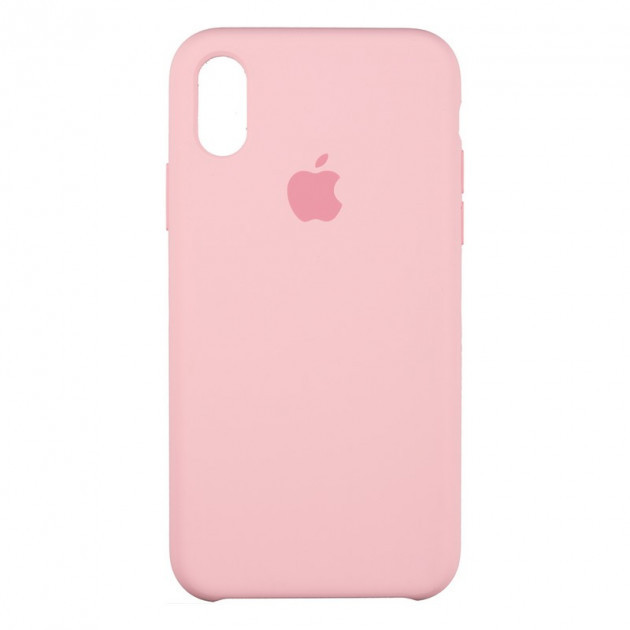 Apple iPhone X/XS Чохол-накладка Original Soft Case Pink