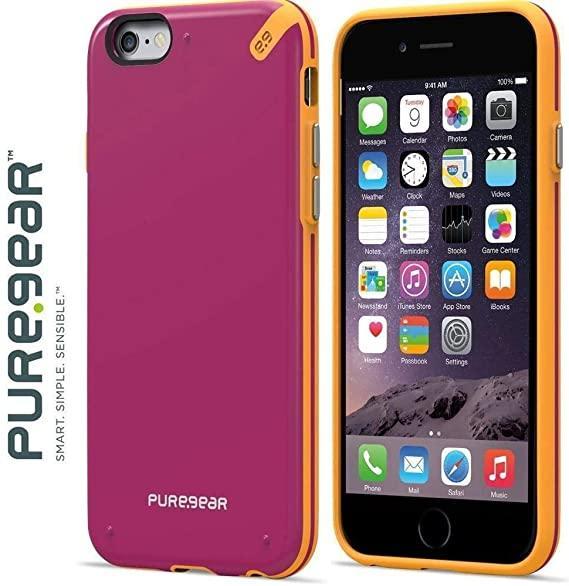 Apple iPhone 6/6S Чохол-накладка Puregear Slim Shell Case Pink
