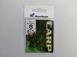 Крючек Hayabusa K-1 Black Nickel №8