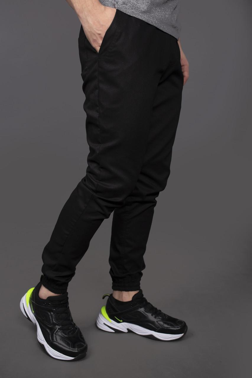 Чоловічі чорні штани карго Intruder