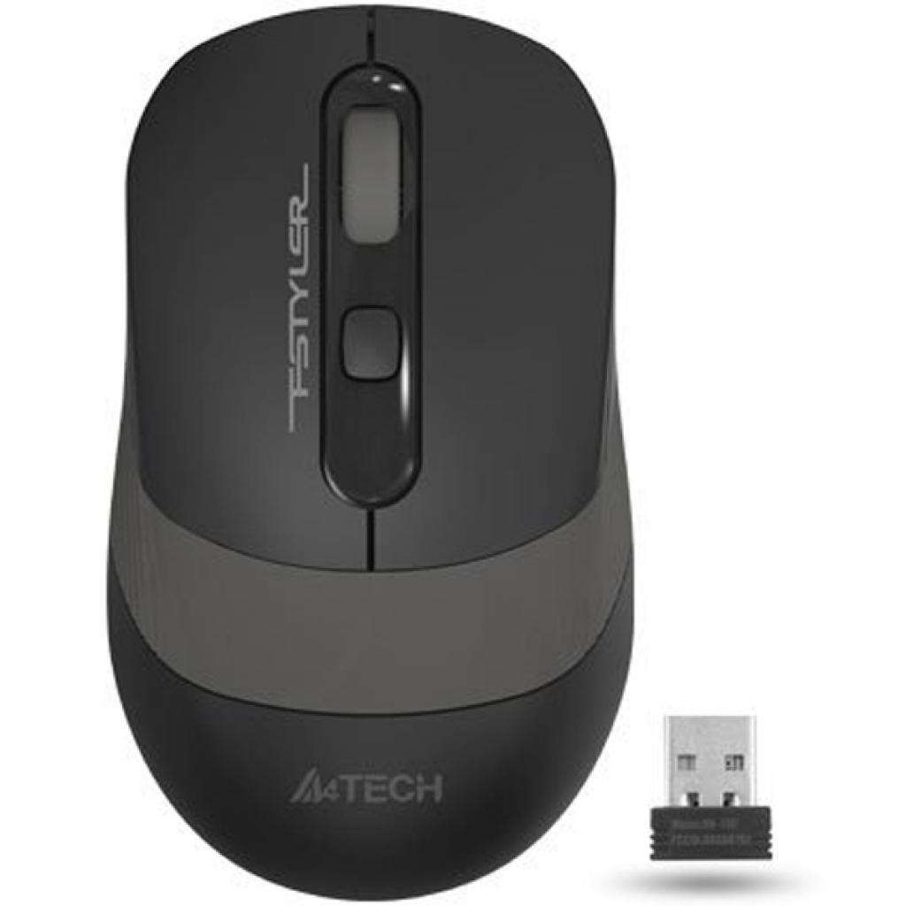 Мишка A4Tech Fstyler FG10 (FG10 (Grey)) Gray Wireless
