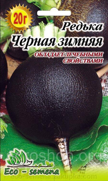 Семена редька Черная зимняя, 20 г