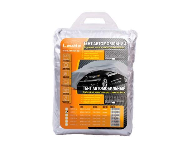 Тент автомобільний поліестер для седану 485х178х120, сумка Lavita LA 140101L