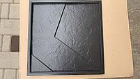 """Пластикова форма для виготовлення 3d панелей """"Вуаль"""" 50*50 (форма для 3д панелей з абс пластику), фото 3"""