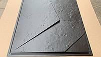 """Пластикова форма для виготовлення 3d панелей """"Вуаль"""" 50*50 (форма для 3д панелей з абс пластику), фото 5"""