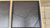 """Пластикова форма для виготовлення 3d панелей """"Вуаль"""" 50*50 (форма для 3д панелей з абс пластику), фото 8"""