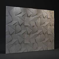 """Пластикова форма для виготовлення 3d панелей """"Вуаль"""" 50*50 (форма для 3д панелей з абс пластику), фото 9"""