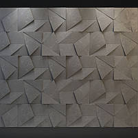 """Пластикова форма для виготовлення 3d панелей """"Вуаль"""" 50*50 (форма для 3д панелей з абс пластику), фото 10"""