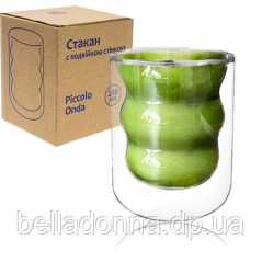 201-22 Склянку з подвійною стінкою 250мл Пікола Онда