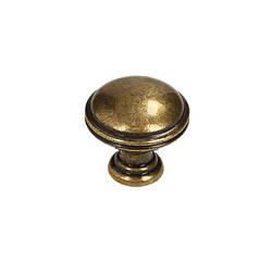 Ручка кнопка Gamet GR49-G0035 античная бронза