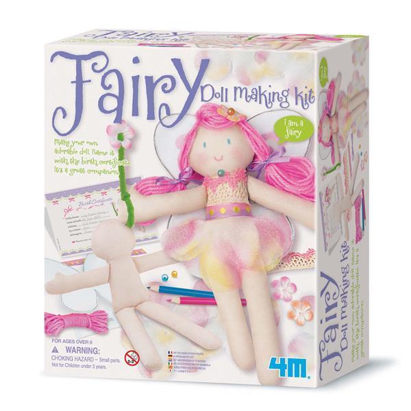 Набор для творчества 4M Кукла-фея