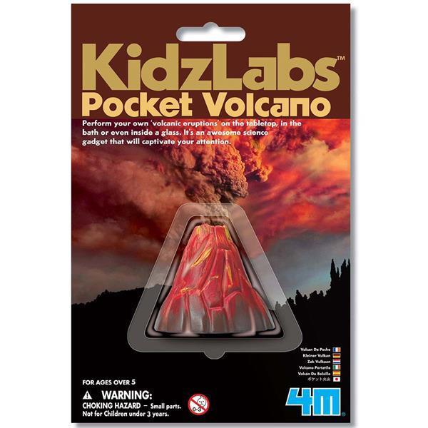 Набор для исследований 4M Карманный вулкан