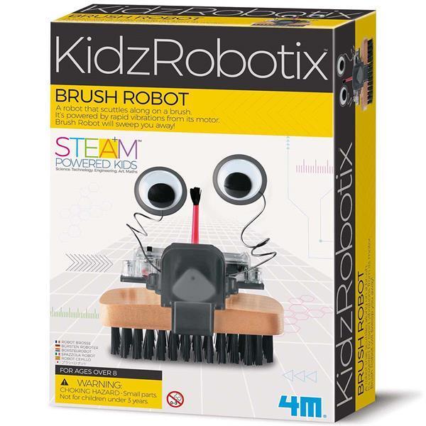 Научный набор 4M Робот-щетка