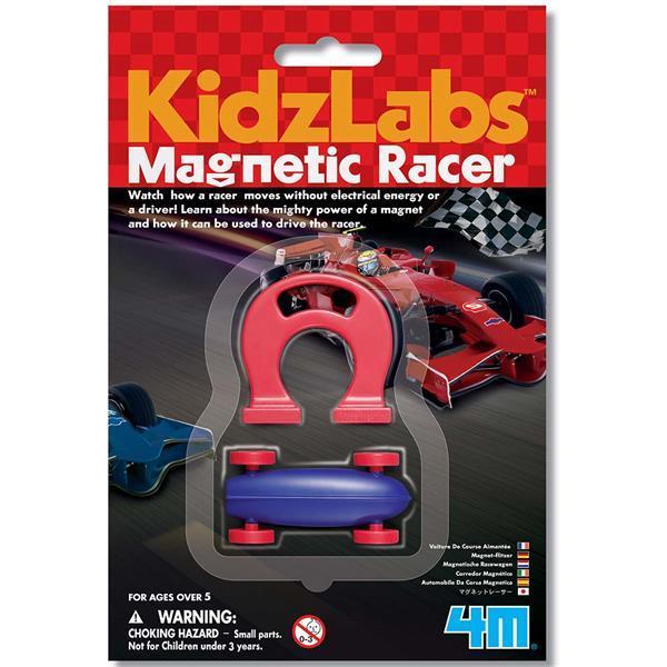 Набор для исследований 4M Магнитный гонщик