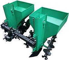 Картофелесажалка двухрядная для минитрактора, мототрактора Володар КСН-90, фото 3