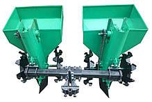 Картофелесажалка двухрядная для минитрактора, мототрактора Володар КСН-90, фото 2