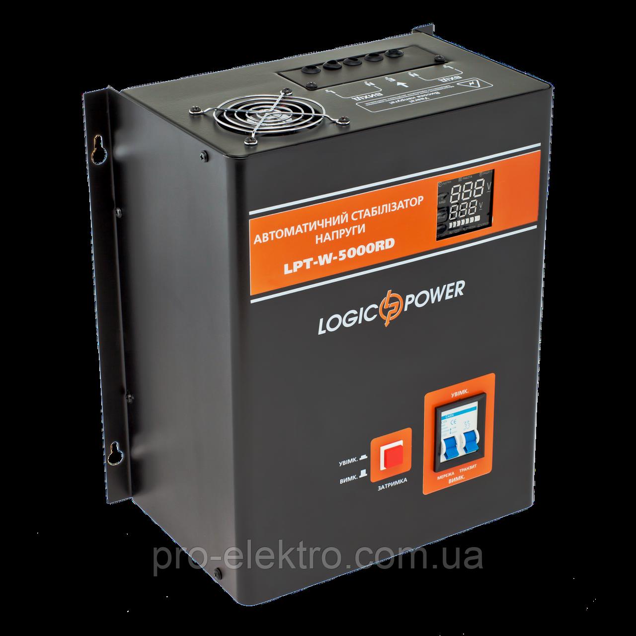 УЦ Стабилизатор напряжения LPT-W-5000RD BLACK (3500W)