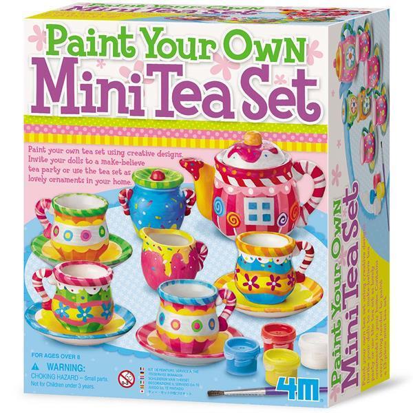 Набор для творчества 4M Чайный сервиз