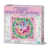 Набор для творчества 4M Мозаика на окно (3 в ассорт. фея/русалка/принцесса)