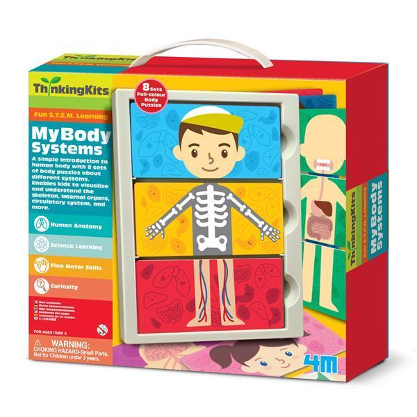 Набор для исследований 4M Мое тело