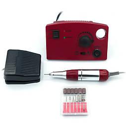 Фрезер для маникюра и педикюра Drill Pro ZS-602 (Красный) 35000 оборотов 65 Вт