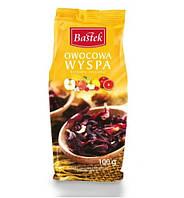 Чай цветочный Bastek Owocowa Wyspa (Фруктовый Остров) с кусочками ягод и фруктов 100 г Польша