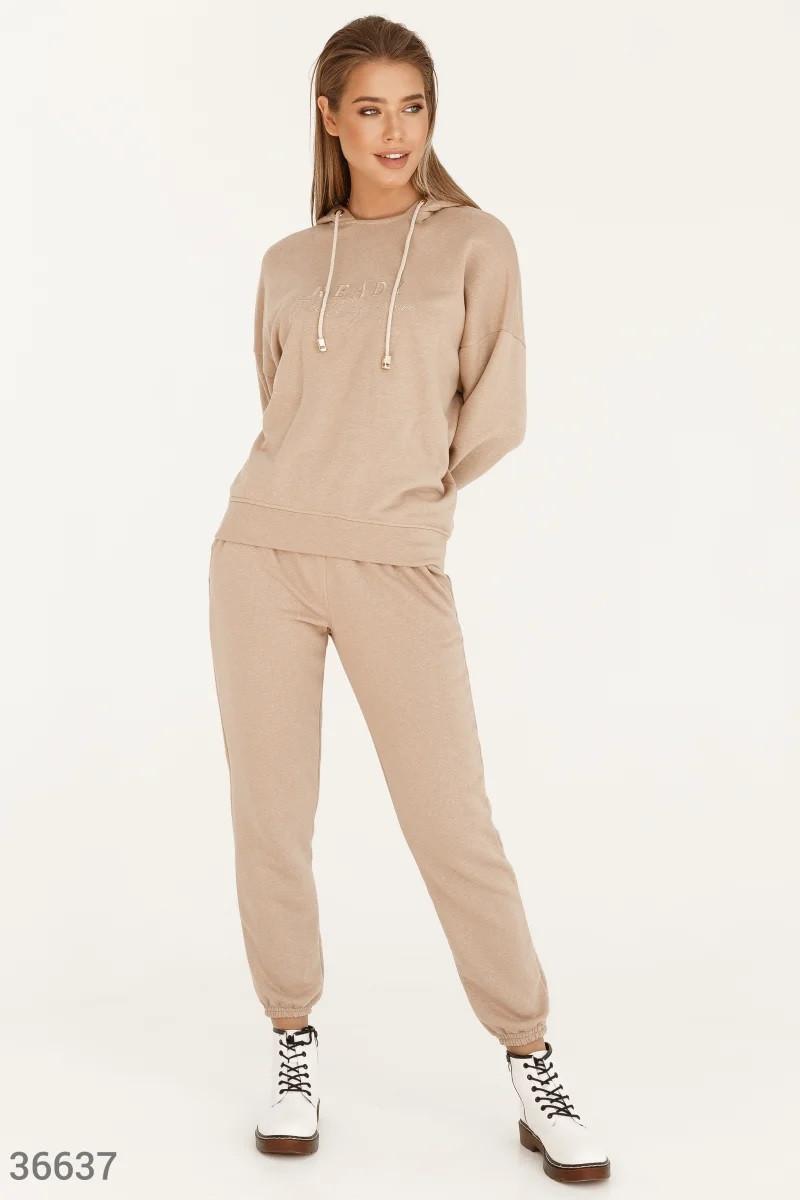 Oversize-костюм с вышивкой S-M,L-XL,2XL-3XL